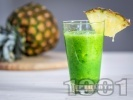 Рецепта Зелено смути с коприва и ананас